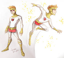 Young Lightray sketch by LucianoVecchio
