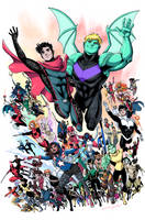 LGBT of the Marvel Universe by LucianoVecchio
