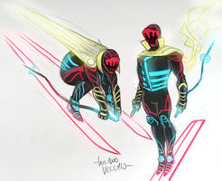Ageless Black Racer sketch by LucianoVecchio