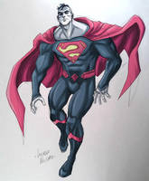 Bizarro Rebirth sketch by LucianoVecchio