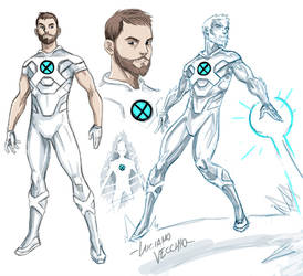 ICEMAN Redesign by LucianoVecchio