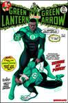 Green Lantern John Stewart firt appearance revisit by LucianoVecchio