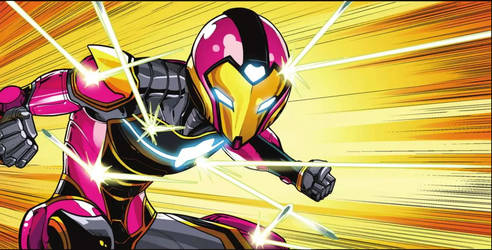 IRONHEART 2 Preview by LucianoVecchio