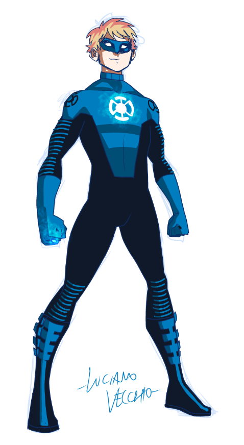 Blue Lantern Terry Berg II by LucianoVecchio