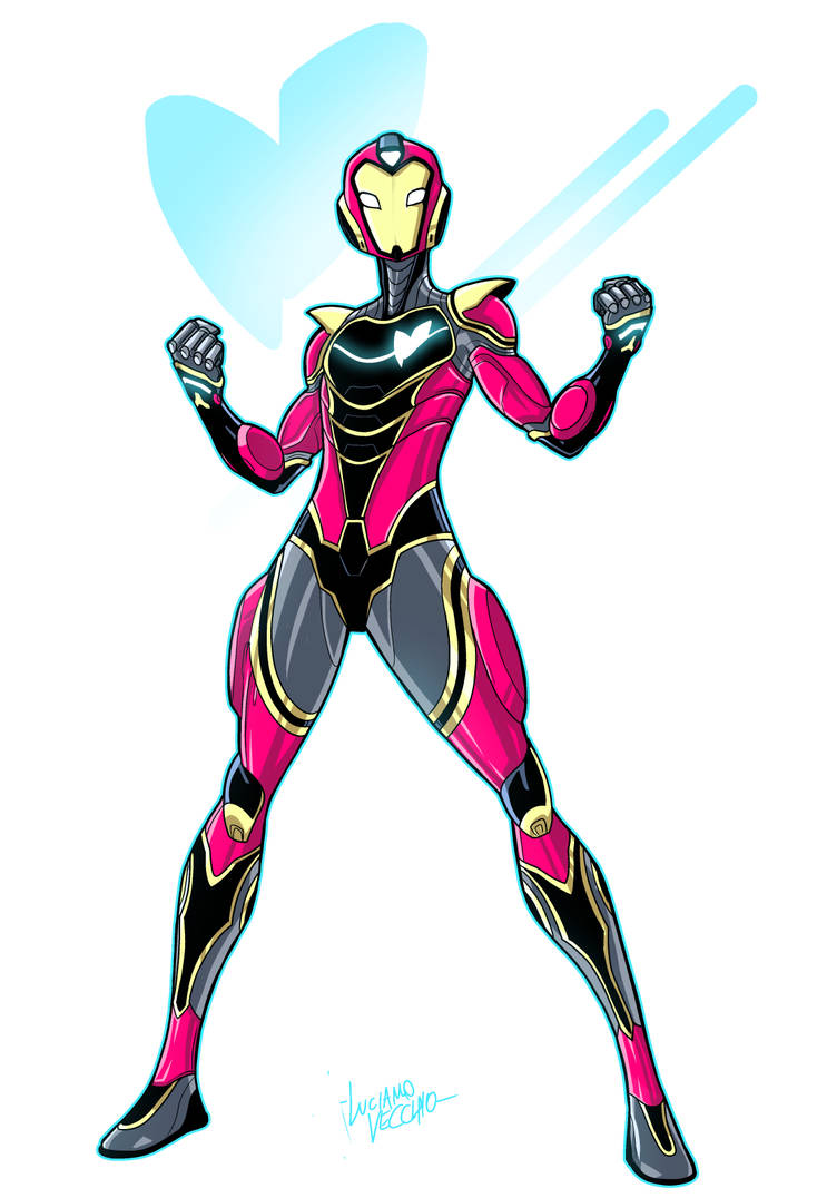 Riri Williams IRONHEART by LucianoVecchio
