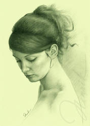 Portrait of a girl by shimoda7