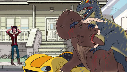 Jurassic Universe 2.0 - (1/12) by ArtMakerProductions