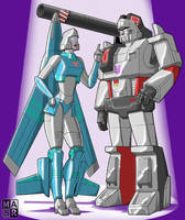 High Data and Megatron by rattrap587