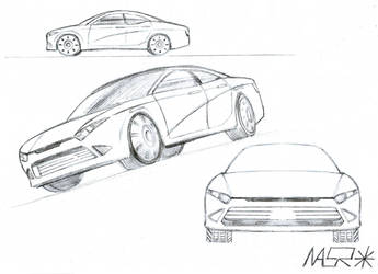 Quick Car Sketches by rattrap587