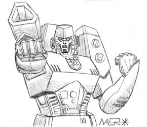 Animated Megatron Sketch by rattrap587