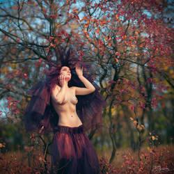 Autumn Bride by annieparfi