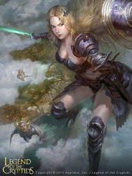 Sky Warrior regular version by TeiIku