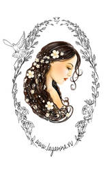 Face of spring by layanna