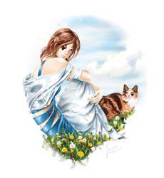 Dandelions Dreams by layanna