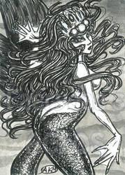 Lilia : Mermaid ACEO by alyssakay
