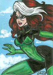 Rogue : XMen ACEO by alyssakay