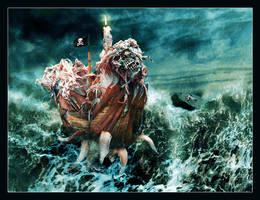 Danden - Legendary Sea Monster by Mrichston
