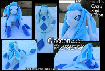 pokeplush Glaceon by Shalie