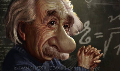 Einstein by bambanob