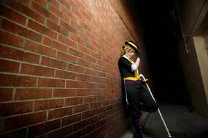 Kagamine Len: Forbidden Alley by OztheNekoMaster