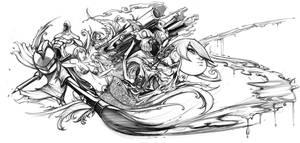 vengeance_pencils by romidion