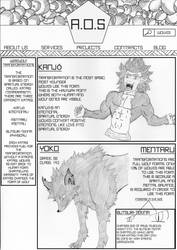 A.O.S (Werewolves Transformations) by ArtDeLaMort