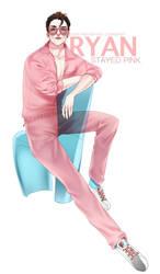 Stayed pink! by Alizena
