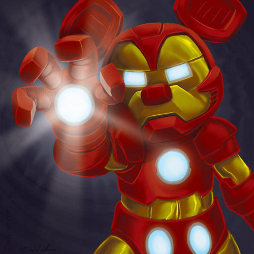 The Invincible Iron Mouse by Timbone