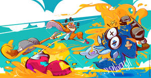 Splatoon Contest by creatorofall