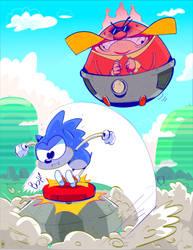Sonic by creatorofall