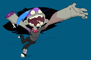 Goth of the Dead by creatorofall