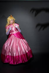Fight or Flight? (2) - Peach Cosplay by FuzzyRedPants
