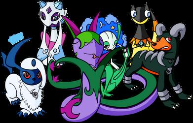 The Trainerless Team by waveguidemarshtomp