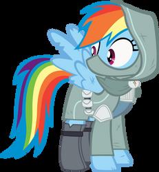 Rainbow Dash Vector - 10 Rainbow Rogue by CyanLightning
