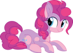 Pinkie Pie Vector 25 - Smling by CyanLightning