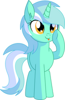 Lyra Vector 04 - Blep by CyanLightning