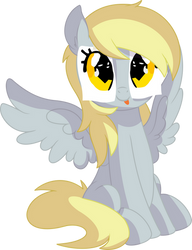 Derpy Vector 03 - Totally Not Derpy by CyanLightning