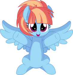 Windy Whistles Vector 02 - Hug me by CyanLightning