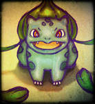 bulbasaur! by TalaStrogg