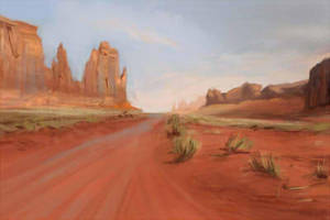 Desert practice by TalaStrogg