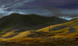 landscape and color practicing by TalaStrogg