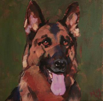 portrait of Uri! by TalaStrogg