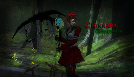 GW2 - My Character by Milkyage