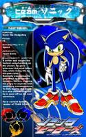 Sonic the Hedgehog by CaptRicoSakara