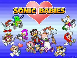 SONIC BABIES by CaptRicoSakara