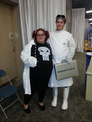 Abby Sciuto and Doctor Horrible at SCEE 2014 by xayoz77