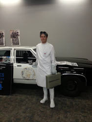 Doctor Horrible and Blues Mobile at SCEE 2014 by xayoz77