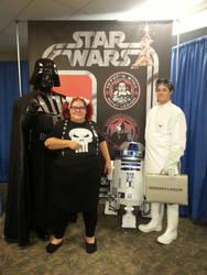 Darth Vader, Abby Sciuto, R2D2, Doctor Horrible by xayoz77