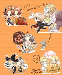 2009 hetalia halloween sticker by SERAPHLEI
