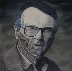 Beksinski portrait by GLepage91